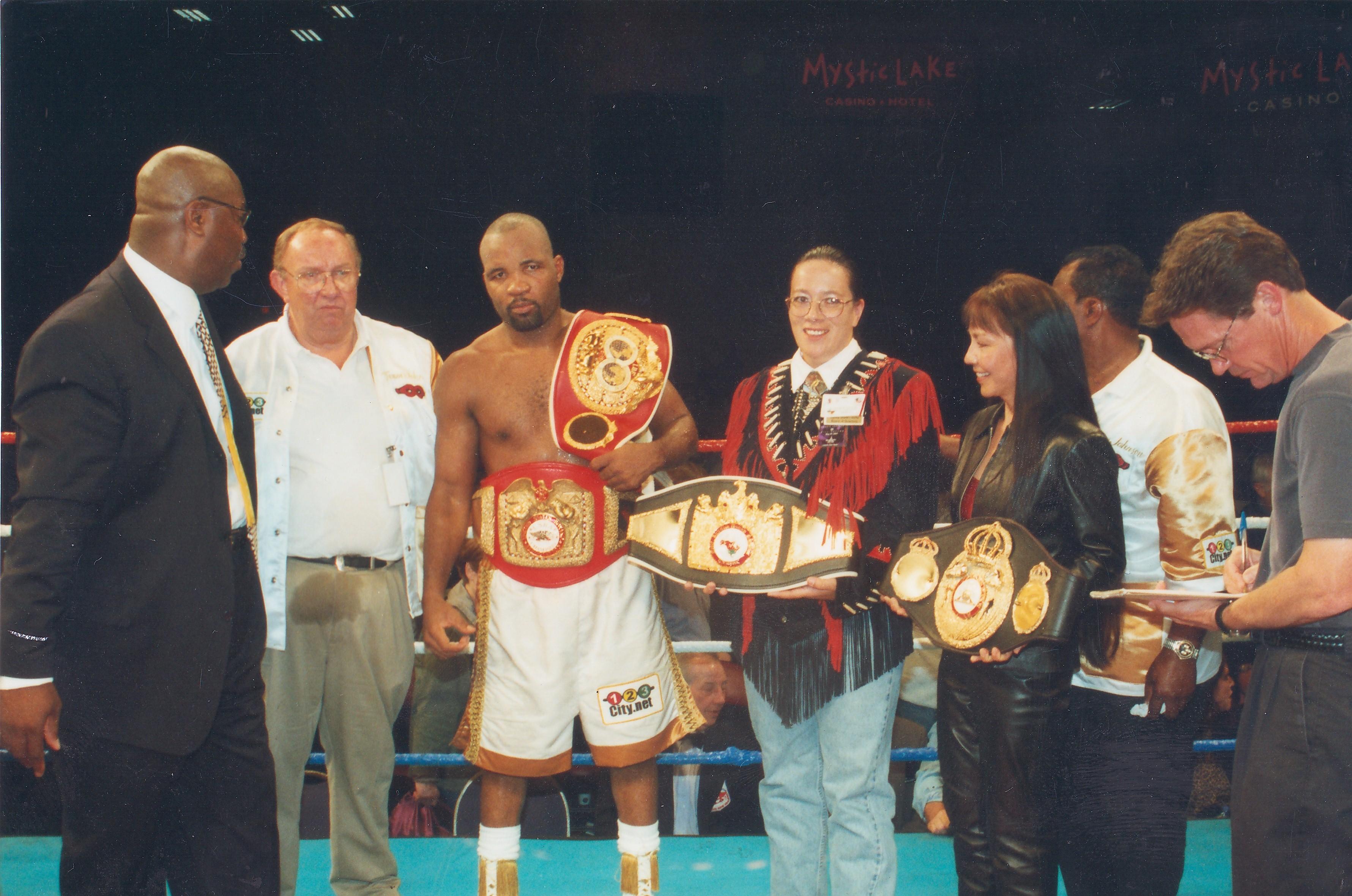Meet Reggie Johnson, 3-time World Boxing Champion!