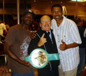 Sunny Bono, Boxer. Steve Smoger, boxing referee.  Linwood Jackson, Talk show host.