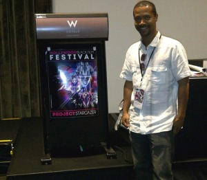 "Rashim Cannad , Writer & Director of  ""The Upper Room"""