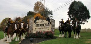 Sgt. Mary Devine, and members of the New Castle County Police's mounted unit