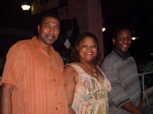 C. Linwood Jackson, Connie Drummond Playwright & Omar Showtime Rashada